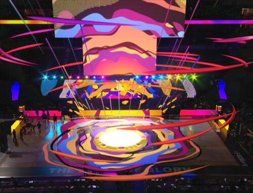 High energy AR for live broadcast