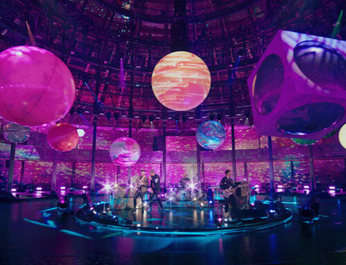 360 degree visuals for Coldplay
